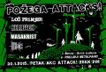 PETAK - 30.1.2015. - POŽEGA ATTACKS - Dislike, Loš Primjer, Masakrist, Hellback