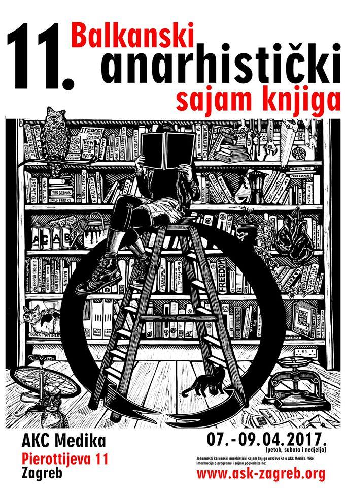 AKC Attack | 11. Balkanski anarhistički sajam knjiga